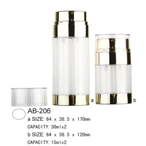Airless-Lotion Flasche AB-206