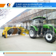 SAMTRA Tracteur traînant Compost Turner Mixer