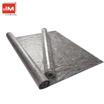 tela reciclada laminada no tejida de los rollos de la estera del piso tela de poliéster impermeable de la tela respirable