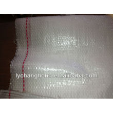 2013 sacs tissés transparents en vente chaude pour riz