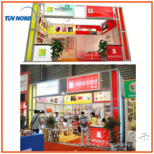 Shanghai modular exhibition stall design and fabrication