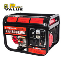 3KVA 3000watt Power Gasoline Generator Set Harga