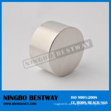 Imán permanente del cilindro de forma irregular
