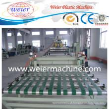Linha de produção nova da máquina do Exruder do plástico da folha de TPU da técnica