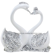 Silver Goose Love Goose for Wedding Decoration