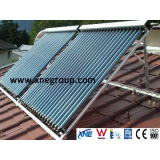 Solar Keymark certificated solar collector roof type