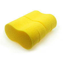 Yellow 8 shape big car washing cleaning PU sponge