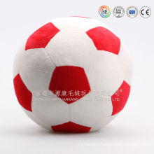 Promotion gift stuffed plush soccer ball