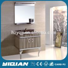 Hot Sale Home Cabinet de toilette baigné pour salle de bain Hangzhou Factory Cabinet de bain populaire en acier inoxydable