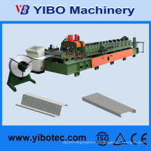 Hangzhou Yibo tipo de caixa de folha de metal Make C / Z forma Purlin Steel Truss Machine