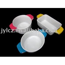 casseroles with silicone handle