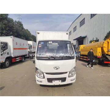 YUEJIN 4x2 gas diesel van for sale