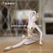 High quality home decoration soul dancer art and crafts resin material dancer model