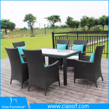 Factory Price Dining Chairs Set Synthetic Rattan Garden Furniture
