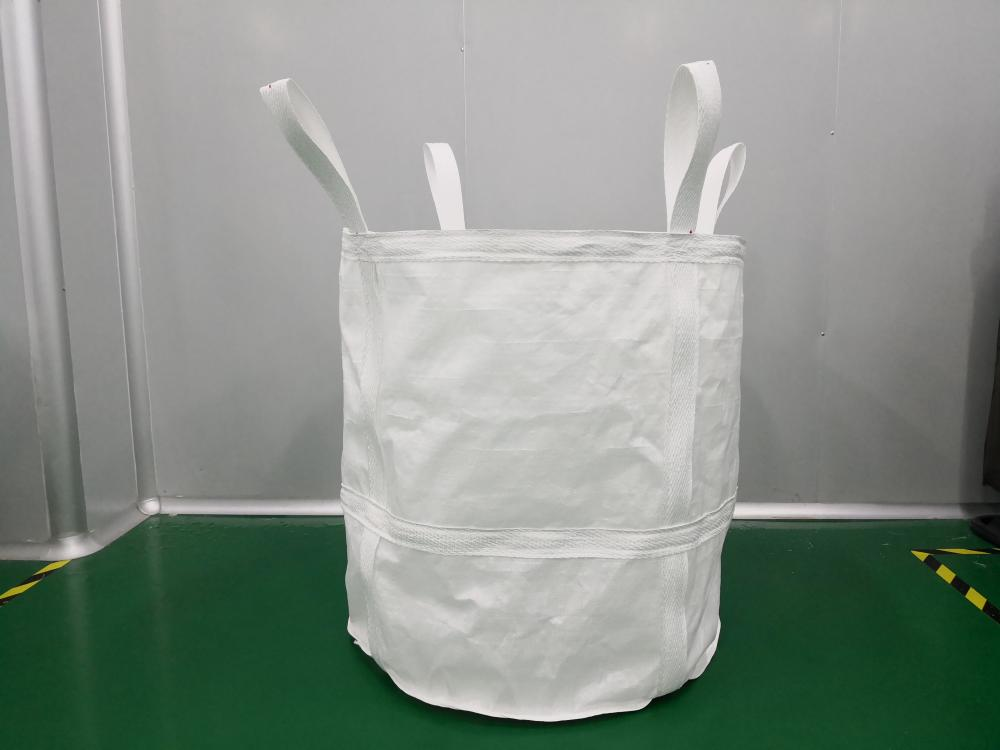 White Square Aluminum Oxide Jumbo Bag.