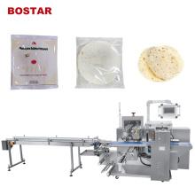 Automatische Daunen-Pizza-Brot-Kissen-Verpackungsmaschine