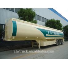Semirremolque semirremolque de la gasolina de la buena calidad 50m3, semirremolque del tanque de combustible del eje 3