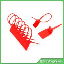 Self блокировки уплотнения, длина 280 мм, пластиковые пломбы теги, пластиковые уплотнения