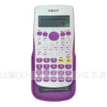 Portable Scientific Calculator with Hard Sliding Back Cover (LC758E)