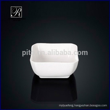 P&T chaozhou porcelain factory simple square soy saucer dish wasabi dish
