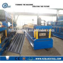 Stahl Aluminiumlegierung Gerüst Plank Making Maschine mit günstigen Preis, Gerüst Deck Boden Board Roll Forming Machine