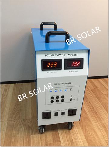 600W Solar Home System