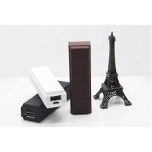 18650 Zelle USB-Ausgabe Schokolade Power Bank