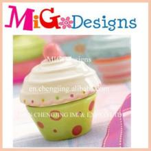 Hot Sales Custom Art Art Crafts Ceramic Cupcake Jar