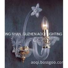 E14 Modern Glass  Wall Lamp