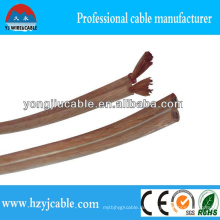 Oxygen Free Copper 2 * 4mm Radio Lautsprecherkabel Parallel Kabel Elektrisches Kabel