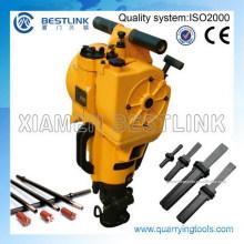 Gasoline Rock Drill Machine Yn27c para la extracción de canteras