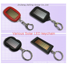Solar LED Keychain with Novelty Outer Appearance (D1)