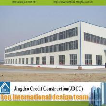 Fábrica de Estructura de Acero Galvanizado Prefabricado