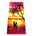 Tropical Palm Tree Towels For Beach Honey Moon