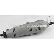 135w 217pcs GS Aprobación del CE ETL Mini engranaje Kit del accesorio del kit de la grúa Herramienta multi rotatoria eléctrica de la aguja de la precisión Taladro