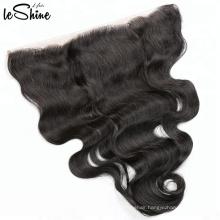 Brazilian Body Wave Hair No Tangle No Shed Human Hair Weave 360 Lace Frontal Closure