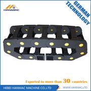 Black Nylon Drag Chain Wire Carrier CNC Machine