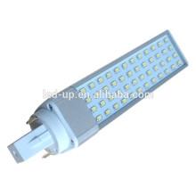 SMD 2835 Lampe à LED 2 pommes à LED 2 lampes à gaz G24 52LED 10W