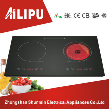 A Grade Black Crystal Glass Plate Induction Cooker&Ceramic Cooker
