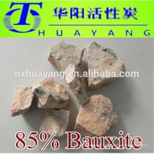 Refractory Grade 85% Calcined bauxite