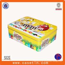 Caixa de metal personalizada Caixa de lata de café Caixa de lata de chá