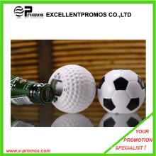De la forma del fútbol que habla el abrebotellas para el regalo de la promoción (EP-O7291)