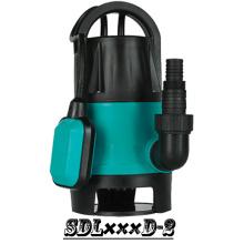 (SDL400D-2) Jardin de plastique pompe Submersible avec interrupteur à flotteur pour eaux sales