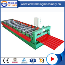 CNC IBR Metal Sheet Roof Panel Roll Forming Machine