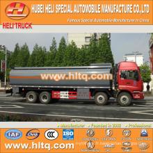 FOTON 8x4 28CBM camion citerne en plastique à vendre, usine de porcelaine