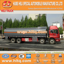 FOTON 8x4 28CBM plastic tank truck for sale , china factory supply