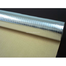 Metal Building Insulation,MPET FSK Facing,Reflective And Silver Roofing Material