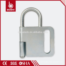 Cierre de acero BOSHI cerradura BD-K31, 4 candados permitidos, cerradura de candado con CE