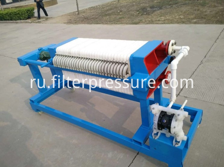 Movable Filter Press3