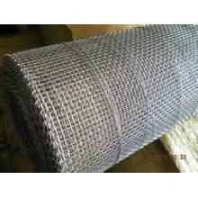 Maillage métallique carré galvanisé, maillage filtrant (tye-01)